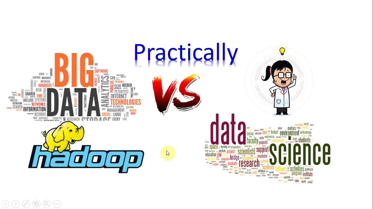 Big Data Analytics track vs Data Science / machine learning tutorial track  - practically