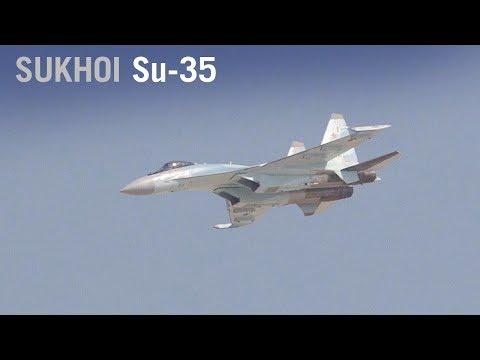 Russia's Sukhoi Su-35 Displays Thrust Vectoring Aerobatics at Dubai Airshow – AINtv