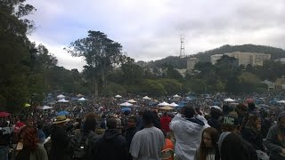 420 San Francisco Golden Gate Park Hippie Hill 2015