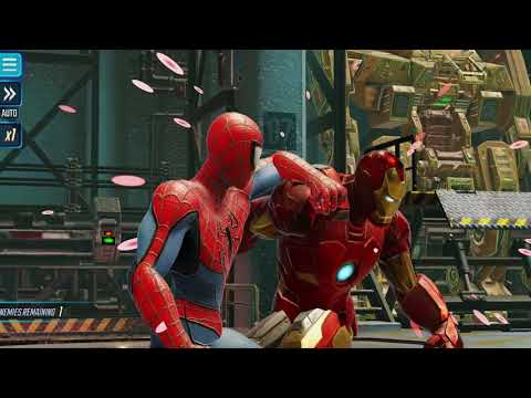 MARVEL Strike Force  Android Gameplay