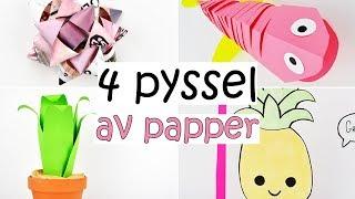 4 PYSSEL   med papper
