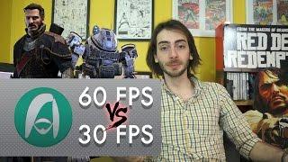 30 FPS vs 60 FPS