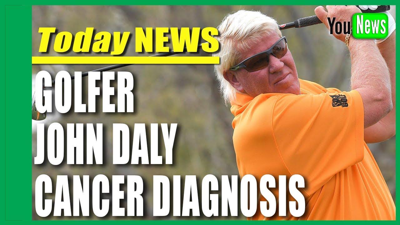 Golfer John Daly reveals bladder cancer diagnosis
