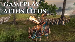 Total War: WARHAMMER 2 | Gameplay con Altos Elfos