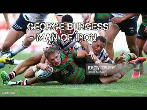 George Burgess - man of iron