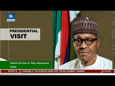 Buhari Arrives Yola For Anti-Corruption Summit, To Inaugurate Projects |News Across Nigeria|