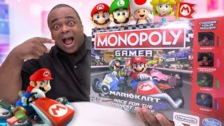 MARIO KART EDITION: MONOPOLY GAMER UNBOXING!