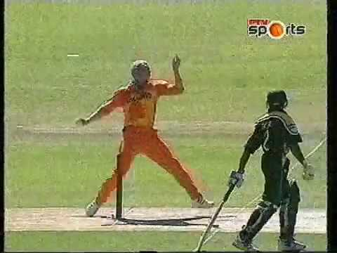 **Rare** Cricket World Cup 2003 28th Match Netherlands v Pakistan Extended Highlights
