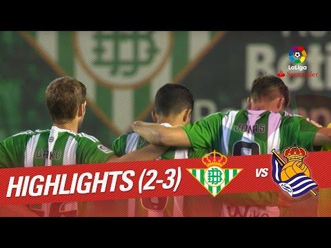Resumen de Real Betis vs Real Sociedad (2-3)