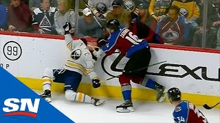 zadorov-eichel-trade-dangerous-hits-during-avalanche-vs-sabres-game