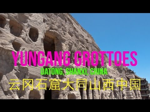 Jalan-jalan ke Datong (3) : Yungang Grottoes Datong Shanxi Cina-云冈石窟大同山西中国 - Travel Vlog