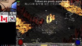 [ENG/KOR] 한손으로 디아블로하기 POD MOD/Path of diablo hardcore One ha…