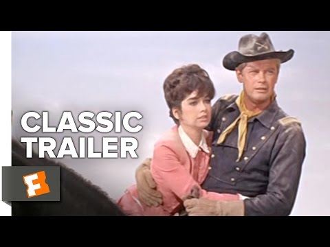 A Distant Trumpet (1964) Official Trailer - Troy Donahue, Suzanne Pleshette Western Movie HD
