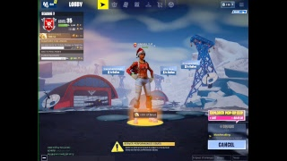 Fortnite Mobile 6 Finger Claw Ipad pro 17