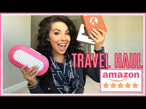 Amazon Haul | Travel Essentials YOU NEED in 2019