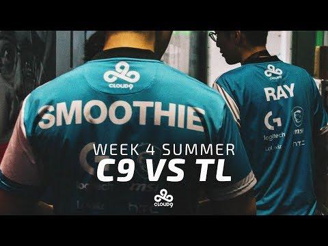 Cloud9 vs Team Liquid | LCS Week 4 Highlights (2017 Summer)