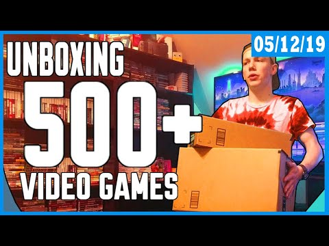 Setting Up The Game Room!   Huge Video Game Collection   Building A Gamer Paradise Part. 2!