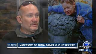 After serious crash, Aurora man thankful to driver at fault for staying with injured wife