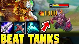 HOW TO DESTROY THE TANK META USING TRYNDAMERE TOP | Tryndamere Full Game - League of Legends