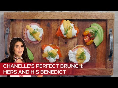 Chanelle's Perfect Brunch Recipe: Hers and His Eggs Benedict (MasterChef Canada)