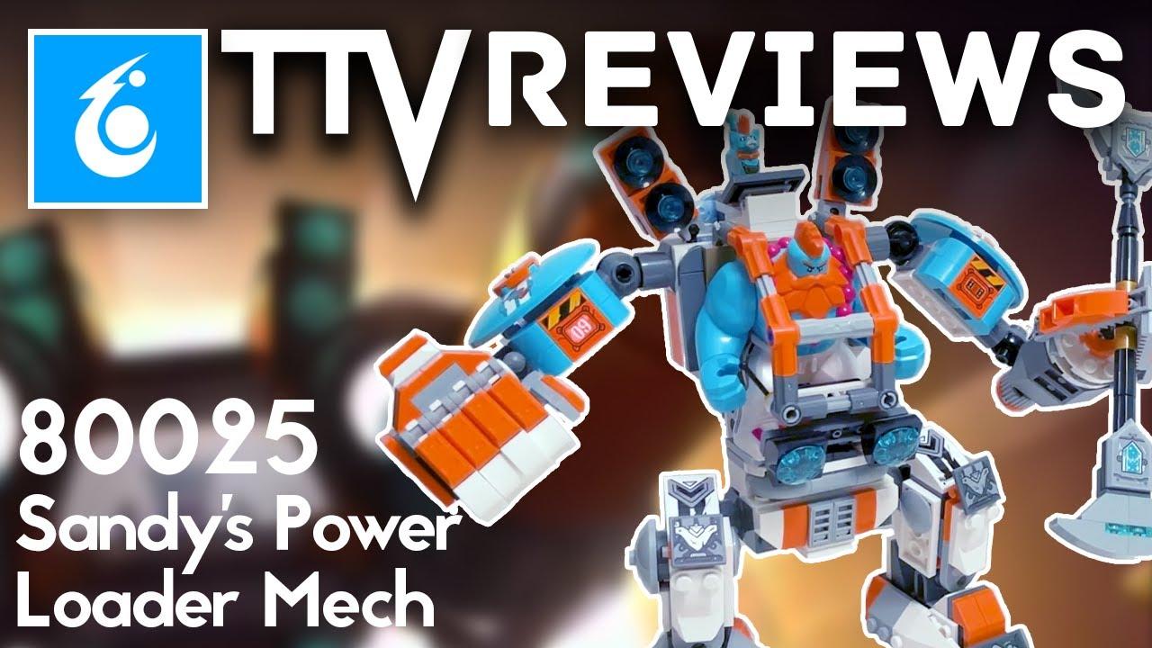 MONKIE KID 2021 Set Review - 80025 Sandy's Power Loader Mech