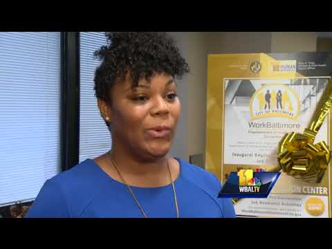 Video: Thousands expected to attend big job fair in Baltimore