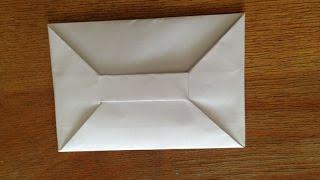 Как сделать конверт из бумаги А4(, 2015-06-02T06:33:36.000Z)