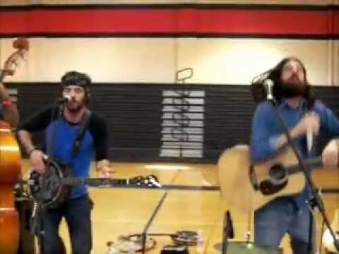 The Avett Brothers at West Wilkes High School in 2008