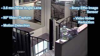 TITAN Sony CCD Home and Business Indoor and Outdoor Security Camera   Overview