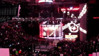 WWE Elimination Chamber 2011 Intro + Pyro