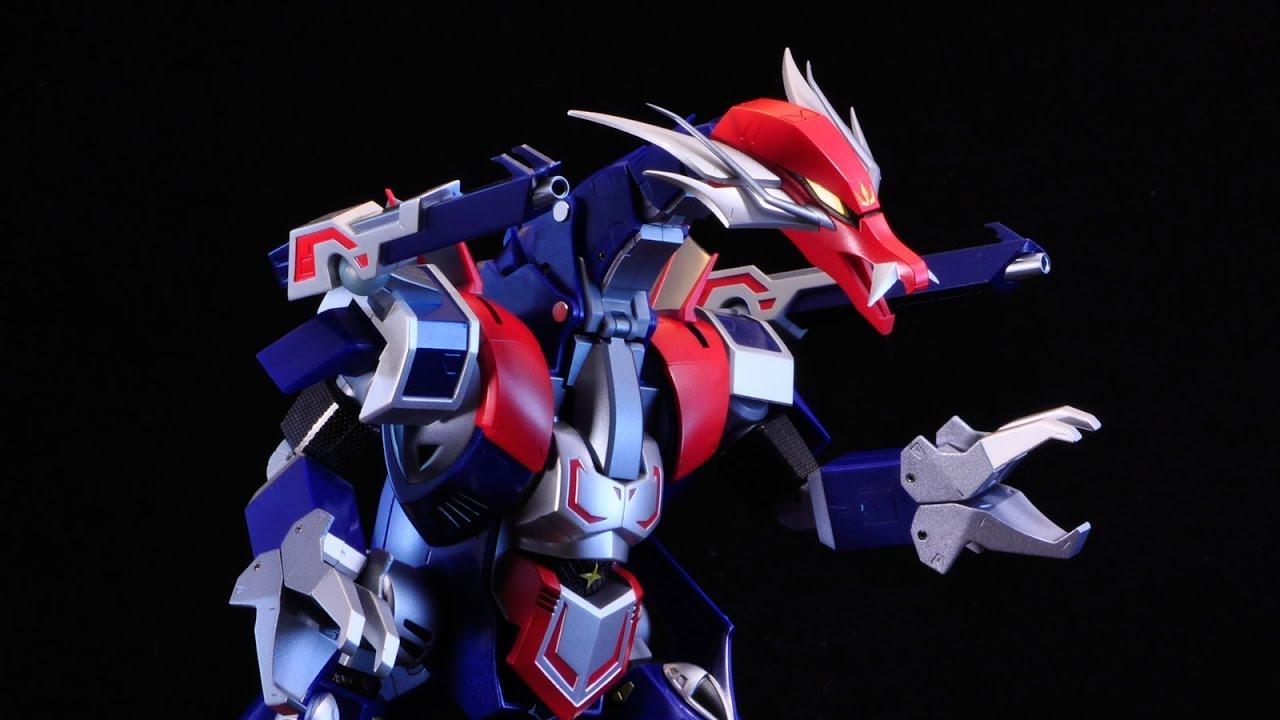 kb10 Soul of Chogokin GX-56 ZEROKAGE /& BAKURYU Ninja Warror Tobikage BANDAI