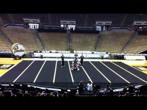 Cheer All Girl Stunt Routine Marley Kayla Shelby Chelsea