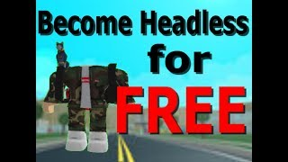 [Tutorial] How to become Headless on Roblox for FREE *not clickbait*
