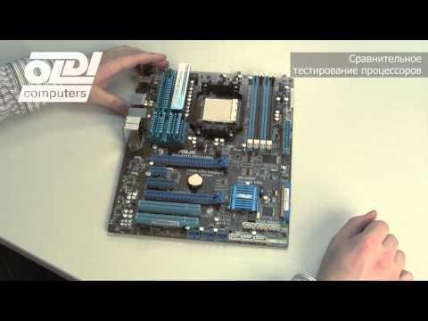Intel Core i7 960 vs Intel Core i7 2600 vs AMD Phenom II X6 1100T - Видео