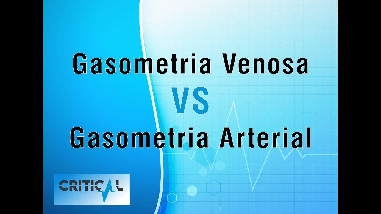 Gasometria Venosa VS Gasometria Arterial - YouTube
