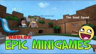 Roblox Adventures/epic Minigames.../Best SERVER EVER!!!