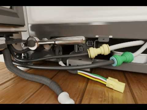 hqdefault 7 part 7 whirlpool refrigerator door removal & replacement youtube  at virtualis.co