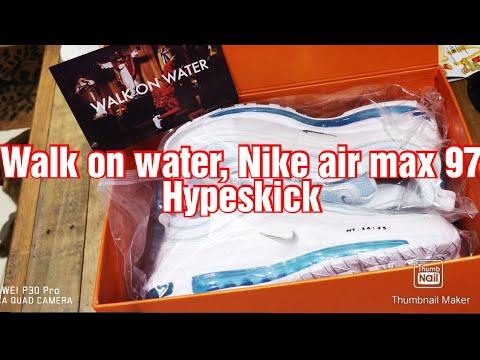 Nike Grade School Air Max 97 (Blue Fury Team Orange