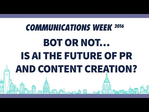 Bot or Not... Is AI the Future of PR and Content Creation?