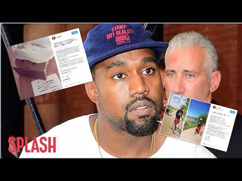 Kanye West Gifts Paralyzed Fan a Pair of Yeezys Who Has Learned to Walk Again | Splash News TV