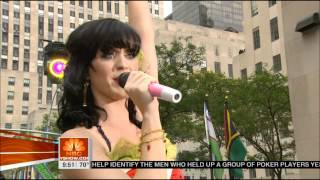Katy Perry - [HD 1080p] Hot N Cold (live on Today Show) 2008