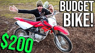 I BOUGHT A DIRT BIKE for STUPID CHEAP!