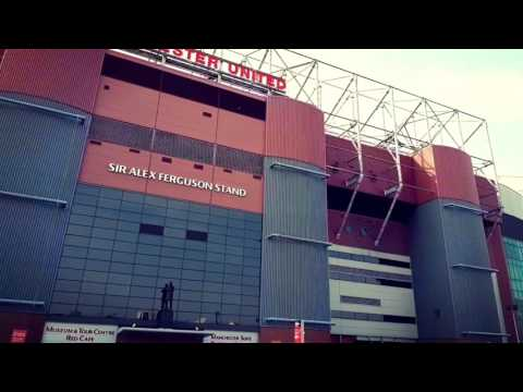 Tour inside Manchester United's Old Trafford Stadium