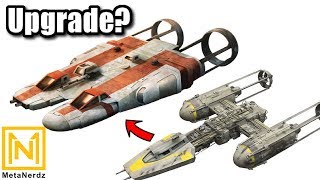 Y-wing and B-Wing KILLER? - BTS-A2 Long-Range Strike Fighter/Bomber - H-Wing - Star Wars Ships