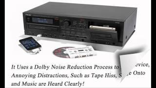 Best Cassette Tape to CD Converter Machine