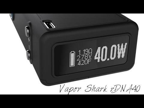 vapor shark rdna 40 review youtube
