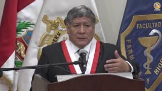 Tema: Ceremonia de Asunción al Decanato Facultad de Farmacia y Bioquímica - Medicina Humana