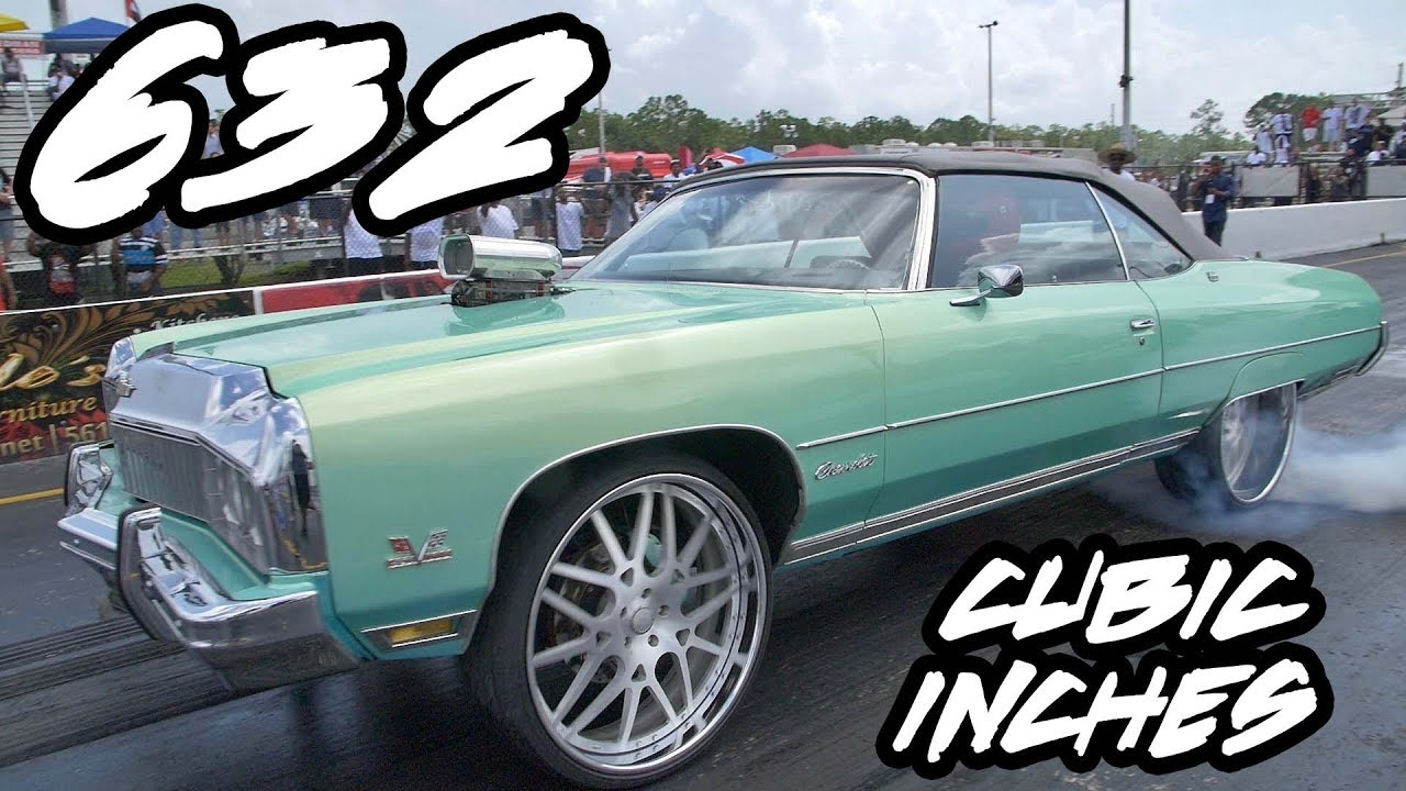 632 Cubic Inch Big Block And Nitrous In A Donk On 26 Inch Rims