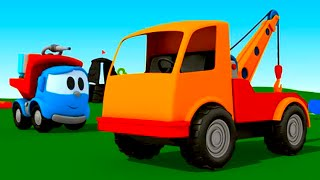 Pequeño Leo - Carros - Carritos para niños - Camiones infantiles - Grúa