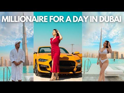 I spent Rs 5 Lakhs in 24 hours in Dubai | Dubai Vlog Hindi |